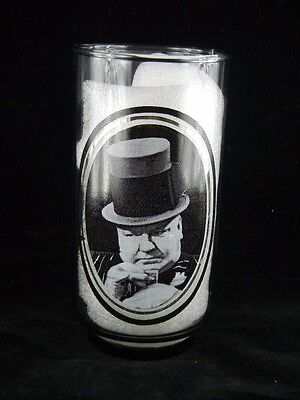 Vintage 1979 Arby's Collector Drinking Glass W. C. Fields