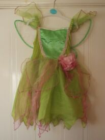 Disney fairies girls dress for 5 to 6 year old