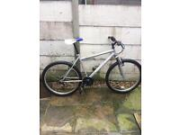 Mtb with front suspension