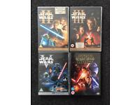Star Wars dvd bundle for sale  Tyne and Wear