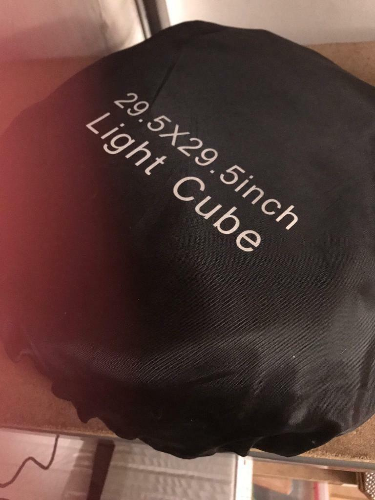 Photography Light Cube