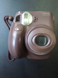 Fujifilm Instax Mini 7S in chocolate colour