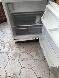 CDA integrated under counter fridge with 3* ice box