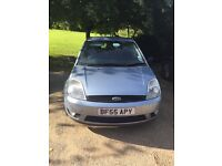 Ford Fiesta Ghia for sale - 55 reg, low mileage, ideal as first car, quick sale (bargain)