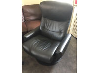 Solid chair in good condition, feel free to view, can recline for extra comfort, Free local delivery