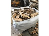 🔥Kiln dried hardwood logs🔥£45 very cheap!!! Call on 07825776902