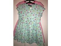 Girls 2 pack dresses