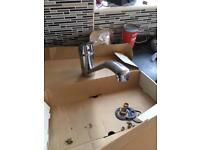 Mixer tap for kitchen.