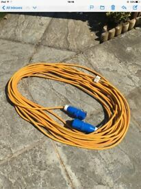 Camping hook-up cable.