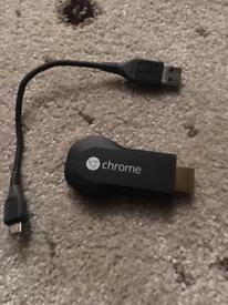 Google chromecast in amazing condition