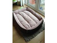 Wolfybed large dog bed