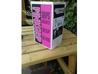 Pink grip adhesive