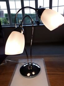 NEW MARKS & SPENCER TABLE LAMP UNUSED PRESENT WAS £30.00 WILL ACCEPT £10.00