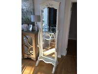 Gorgeous Shabby Chic Cheval Mirror