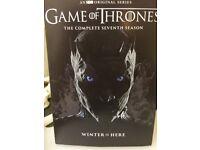 Game of Thrones season 7 sealed REGION 1 (free p&p)