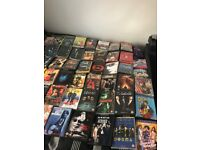 DVD Collection Clear out with over 90 DVDs for Swap