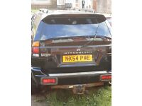 shogun sport 54 plate non runner spare or repairs