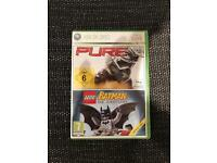 Disney Pure & The Batman Videogame- Xbox 360