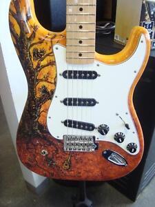 Guitare Fender Stratocaster David Lozeau
