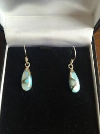 Hand crafted sterling silver earrings