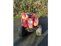 Suzuki Black Shark 100cc Quad.