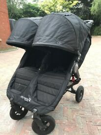 Baby Jogger City Mini GT Double Stroller Pushchair Good condition RRP £649.99