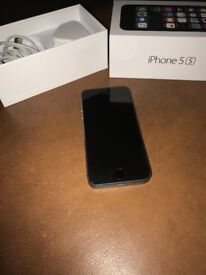 iPhone 5s 16gb immaculate condition.