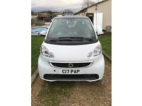 Smart Fortwo 2013 - White, Top Spec, Alloys, Bluetooth - full service history - Hpi clear