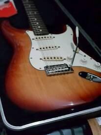 Fender 2008 american standard SIENNA BURST