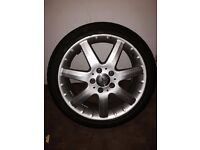 Mercedes Vito Mint condition Tyre and Wheel