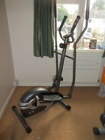 Body Sculpture Foldable Magnetic Elliptical with hand pulse
