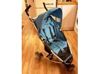 Petite Star Zia - Super compact 3 wheeler stroller with rain cover