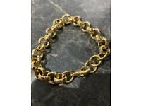 Gorgeous Heavy GP Patterned Belcher Bracelet, 50g, WILLING TO POST