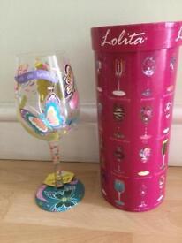 WINE GLASS ( Decorative Gift )