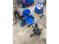 Little Tikes push along/pedal trike for sale