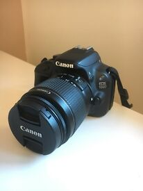 Canon EOS 100D Digital Camera DSLR MINT CONDITION BODY + 18-55MM LENS 4 MONTHS OLD