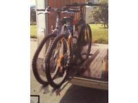 Bike rack, Fiamma, cost £350, first £100