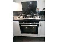 Solid Wood kitchen with granite worktop & appliances