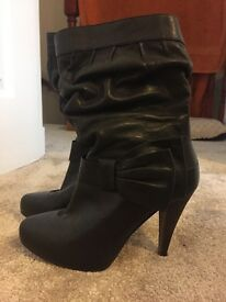 Black River Island boots, size 4