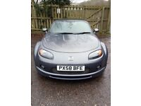 MAZDA MX5 - Grey 2.0L Convertible, leather interior, 6 speed and great fun to drive