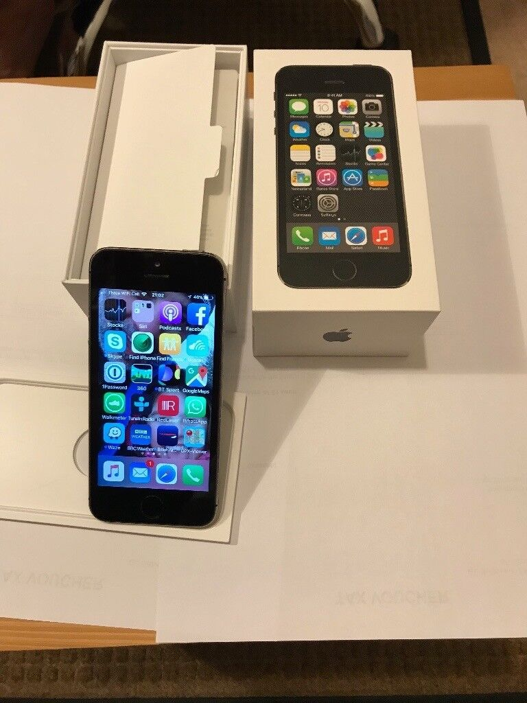 Iphone 5S ,Space Grey , 16GB