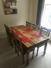 Dining Table and 6 Chairs - Sold!!!