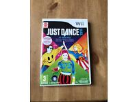 Wii just dance game