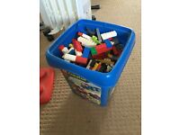 1 Box of assorted Lego