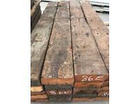 Hardwood sleepers azoba £12.50 a meter