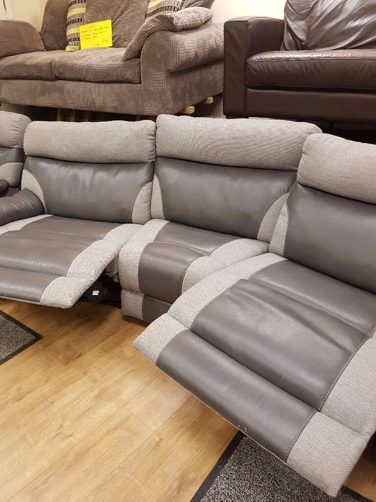 Scs Bedroom Furniture Scs Ralph 4 Seater Reclining Curved Sofa And 2 Reclining Chairs