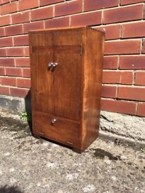 Art Deco cabinet for bathroom or similar.