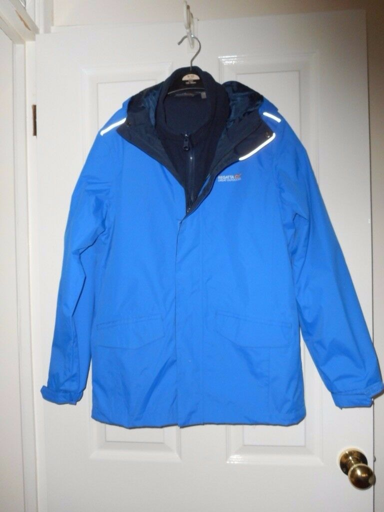 NEW 32 Chest Blue REGATTA Combination Jacket Waterproof - cash on collection from Gosport Hampshire