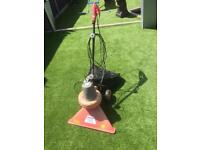 Garden vacuum and leaf shredder good for Astro turf