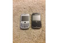 Blackberry 8520 and 9320